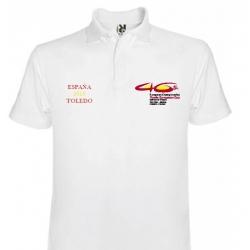 Polo Blanco Recuerdo 46 Campeonato Europeo