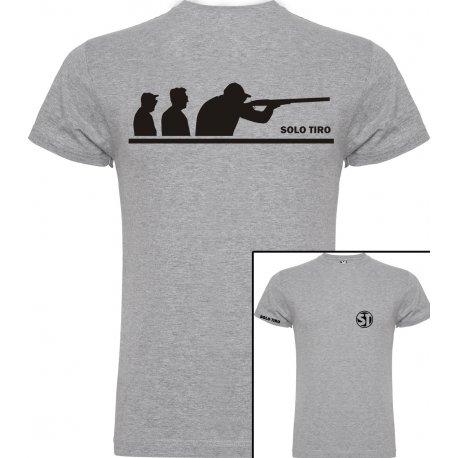 Camiseta de Manga Corta Grupo Tiradores Gris ST