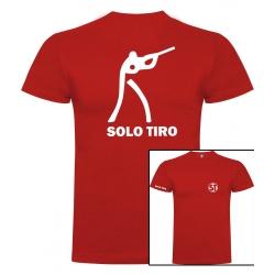 Camiseta de Manga Corta Tirador Roja ST