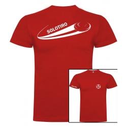 Camiseta de Manga Corta Busto Roja ST