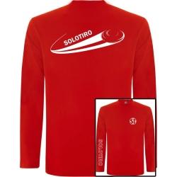 Camiseta Manga Larga Plato Roja