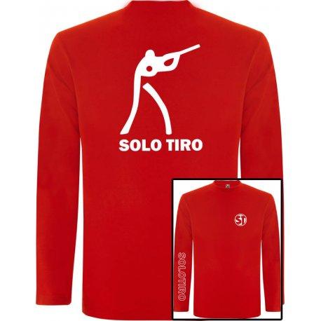 Camiseta Manga Larga Tirador Roja
