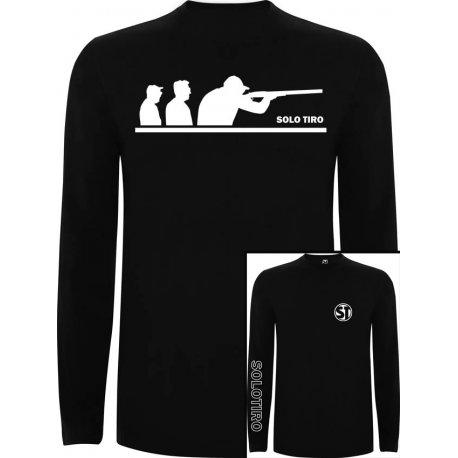 Camiseta Manga Larga G. Tiradores Negra