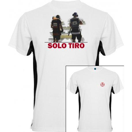 Camiseta Tokyo Trap Shooting Blanca/Negra