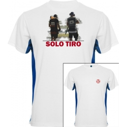Camiseta Tokyo Trap Shooting Blanca/A. Italia