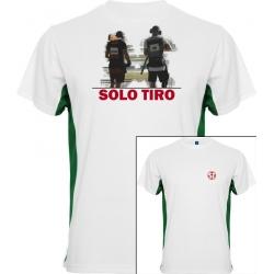 Camiseta Tokyo Dual Shooter Blanca/Verde