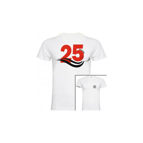 Camiseta de Manga Corta Busto Blanca ST