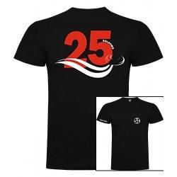 Camiseta de Manga Corta 25 Negra ST