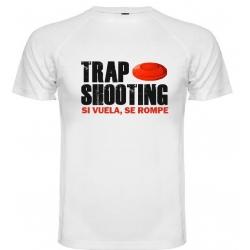 Camiseta Técnica Trap Shooting Manga Corta