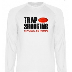 Camiseta Técnica Trap shooting Manga Larga