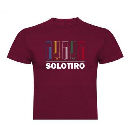 Camiseta Olimpic Cartridge Rojo Vino