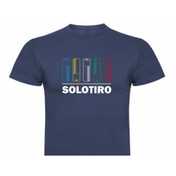 Camiseta Olimpic Cartridge Azul Denim