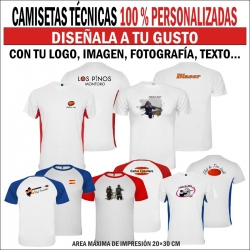 Camiseta Técnica Personalizada