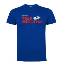 Camiseta de Manga Corta Trap Shooting Horizontal