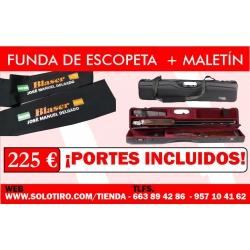 Maletín Negrini + Funda De Escopeta Dos Piezas