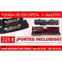 Funda de Escopeta dos Piezas Personalizada + Maletín negrini