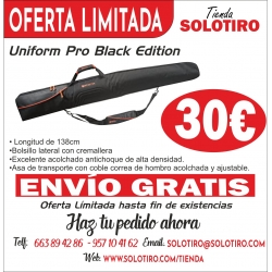 FUNDA DE ESCOPETA PRO BLACK EDITION