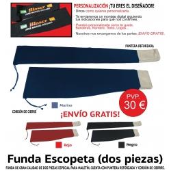 Funda de Escopeta para Maletín Personalizada