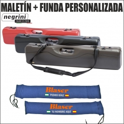 Maletín Negrini + Funda Antióxido dos piezas