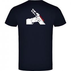 Camiseta de Manga Corta Báscula Marino