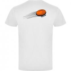 Camiseta de Manga Corta Shooting Clay Blanca