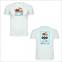 Camiseta conmemorativa 39º Campeonato del Mundo (Blanca)