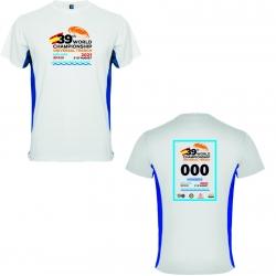 Camiseta conmemorativa 39º Campeonato del Mundo (AZUL)