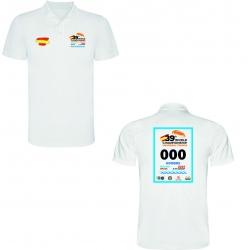 Polo conmemorativo 39º Campeonato del Mundo (Blanca)