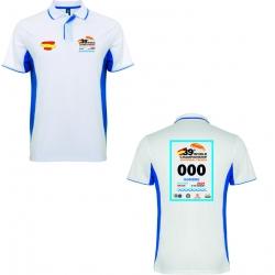 Polo conmemorativo 39º Campeonato del Mundo (AZUL)